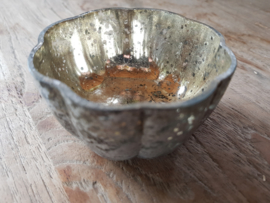 Amberschaaltje Zilver