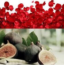 Crespi Milano Giftset geurbrander clear + 150 ml rose & fig