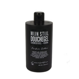 Douche Gel Cotton zwarte fles