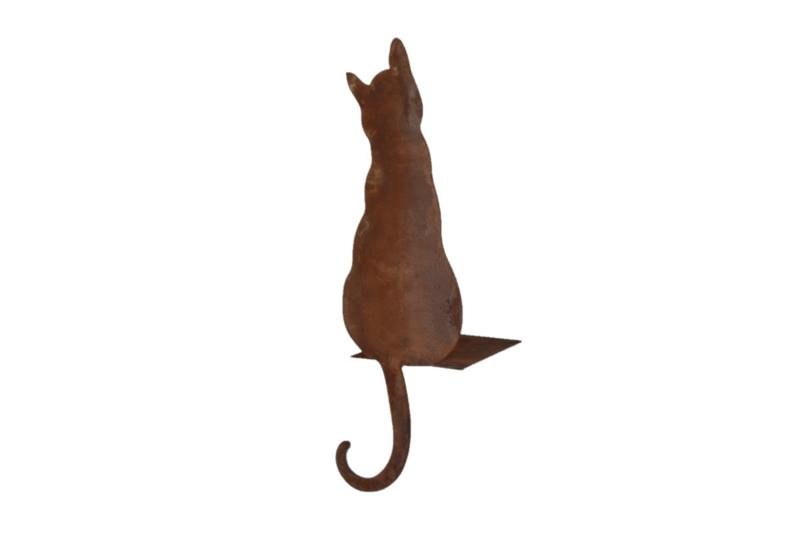 Zittende kat