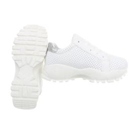 sport schoen wit
