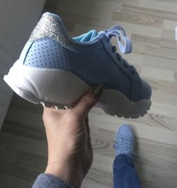 Sneaker baby blauw