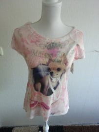 T-shirt met Chichuahua