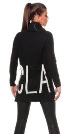 koucla trui zwart met  kol