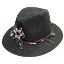 IBIZA hoed met schelpjes