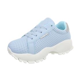 sport schoenen blauw