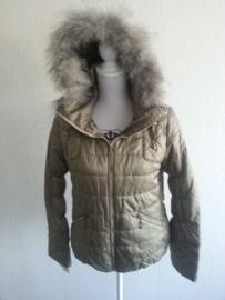 Warme jas, gewatteerde inserts, BONT MIX