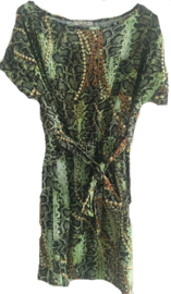 Tuniek/jurkje  slangen print