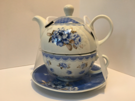 Tea for one  blue