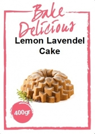 Bake Delicious- Lemon Lavendelcake