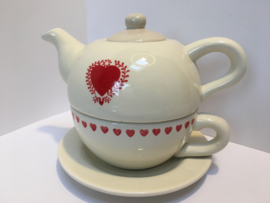 Tea for one heart