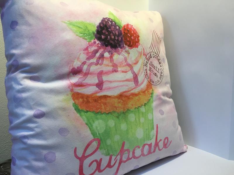 "Kussen ""Cupcake"""
