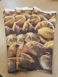 Broodzak Papier Groot 19/45 cm 15 st
