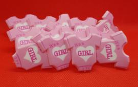 Decoratie Ringen It's a Girl