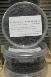 Callebaut Bakvaste Chocolade Druppels Klein Puur  250 Gram