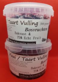 Taart en Vlaai Vulling Bosvruchten 750 gram