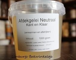Afdek gelei neutraal 1 kg