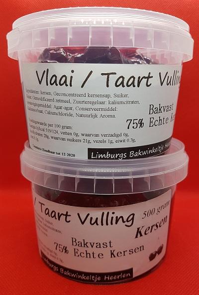 Taart en Vlaai Vulling Kersen 500 gr