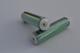 1 x NCR18650B Panasonic 3400 mah batterij