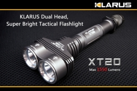 Klarus XT 20 - 1550 lumen