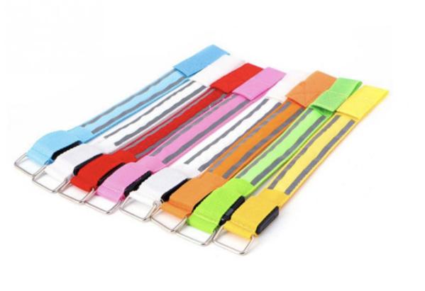2 x USB oplaadbare sport armband (geel)