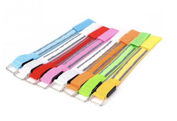 USB oplaadbare sport armband (geel)