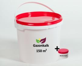 Pakket Gazonkalk & mosbestrijder 150m²