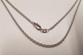 Zilveren Anker collier