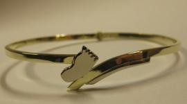 Geel gouden armband