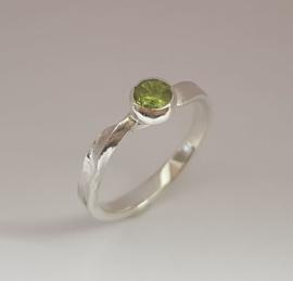 Zilver Peridot (groen)