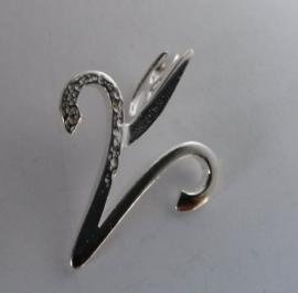 Astrostijl zilveren hanger Ram