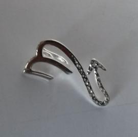 Astrostijl zilveren hanger Schorpioen