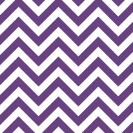 Camelot Fabrics Lavender Chevron