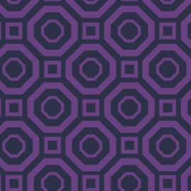 Camelot Fabrics Lavender Polygon