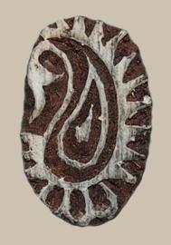Blockprintstempel paisley mini
