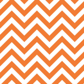 Camelot Fabrics Orange Chevron