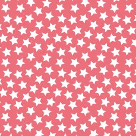 Camelot Fabrics Coral Stars