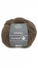 Durable Chunky wool taupe