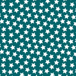 Camelot Fabrics Teal Stars