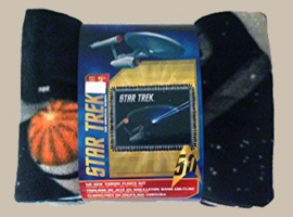 Star Trek fleece deken 3
