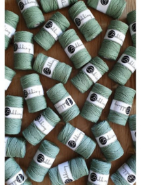 Macramé triple twist eucalyptus green 3 en 5 mm