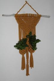 macramé plantenhanger (exl. potjes en plantjes)
