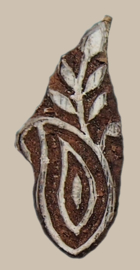 Blockprintstempel paisley mini 2