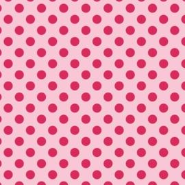 Camelot Fabrics Bubblegum Dots