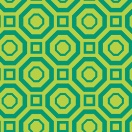 Camelot Fabrics Chartreuse Polygon