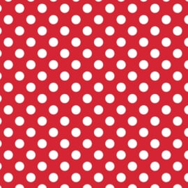 Camelot Fabrics Red Dots