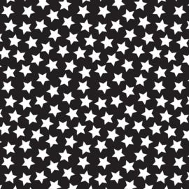 Camelot Fabrics Black Stars