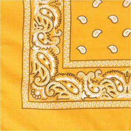Bandana geel