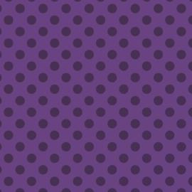 Camelot Fabrics Lavender Dots