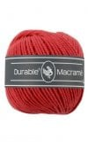 Durable macramé 2-3 mm red